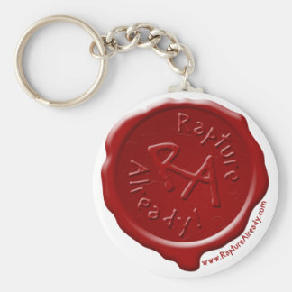 Rapture Already! Wax Seal Keychain