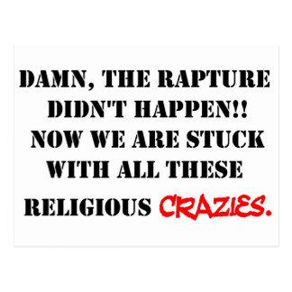 Rapture Crazies Post Card