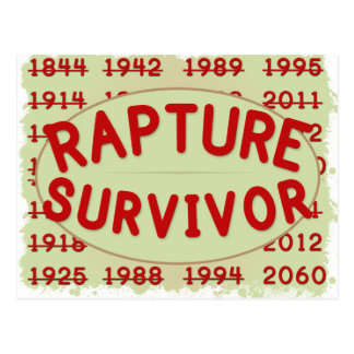 Rapture Survivor Postcard