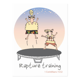 Rapture Training Postcard