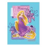 Rapunzel - Artistic Princess Postcard