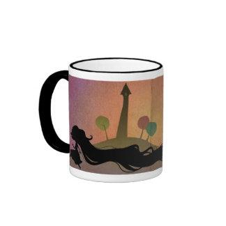 Rapunzel at Sunset Mug