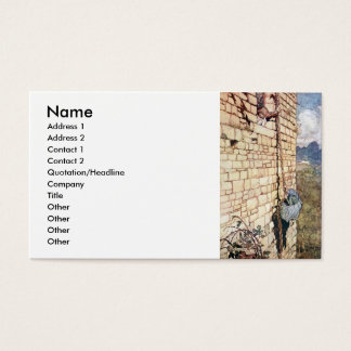 Rapunzel Business Card