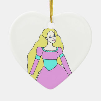 Rapunzel Christmas Ornament