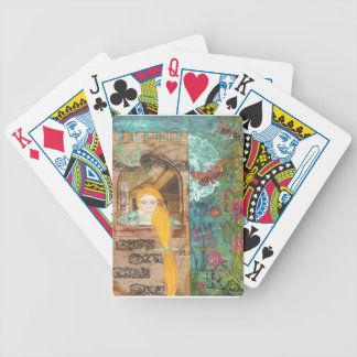 Rapunzel, Dreaming Bicycle Playing Cards
