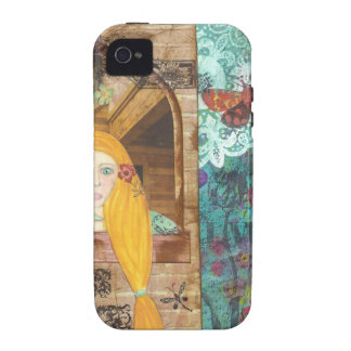 Rapunzel, Dreaming Vibe iPhone 4 Cases