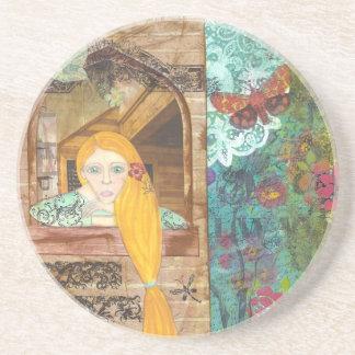 Rapunzel, Dreaming Sandstone Coaster