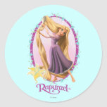 Rapunzel Frame Sticker