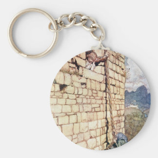 Rapunzel Key Ring