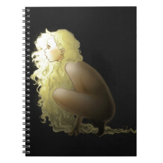 Rapunzel Original Design Spiral Notebook