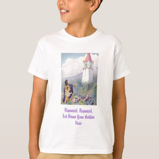 Rapunzel, Rapunzel, Let Down Your Golden Hair T-Shirt