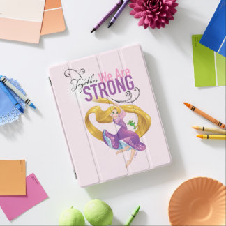 Rapunzel   Together We Are Strong iPad Cover