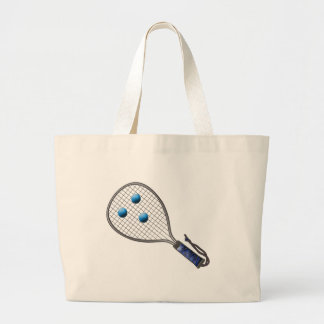 Raquetball Face made with balls Jumbo Tote Bag