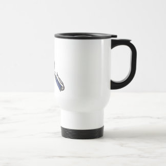 Raquetball Face made with balls Stainless Steel Travel Mug