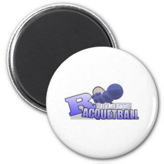 Raquetball My Sport! 6 Cm Round Magnet