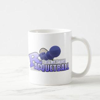 Raquetball My Sport! Basic White Mug