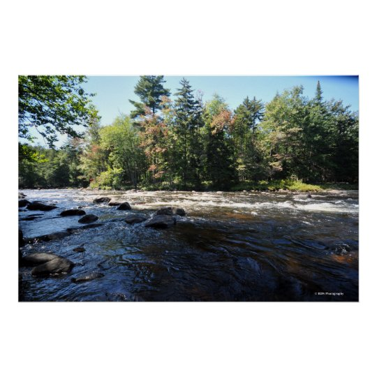 Raquette river in the Adirondack. print 08 258
