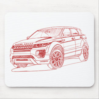 RaR Evoque 2012 Mouse Mat