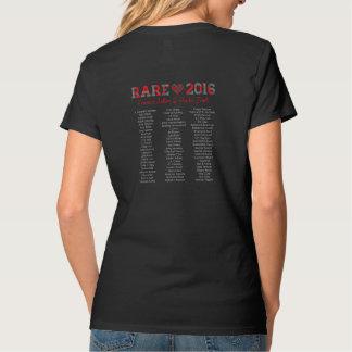 rare16, black, vneck T-Shirt