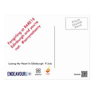 RARE16 Postcard kilt