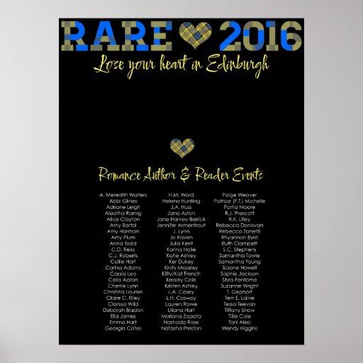 RARE16 poster