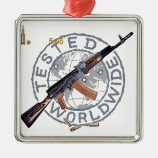 RARE AK-47 RUSSIAN ARMY KALASHNIKOV GUN MILITARY CHRISTMAS ORNAMENT