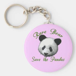 Rare Bear Save the Pandas Keychains