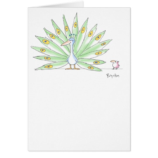 RARE BIRD Boynton Card