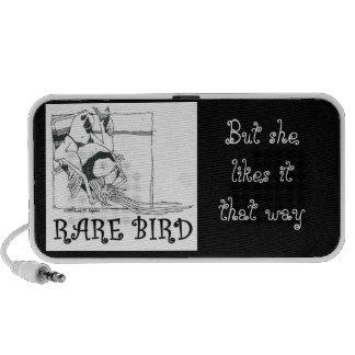 Rare Bird Doodle iPod Speakers