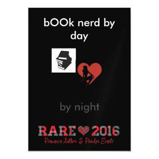RARE book lover Magnetic Invitations