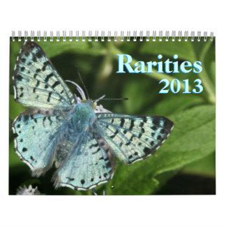 Rare Butterflies 2013 Wall Calendar