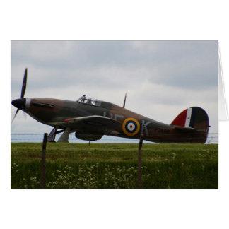Rare Hawker Hurricane Card