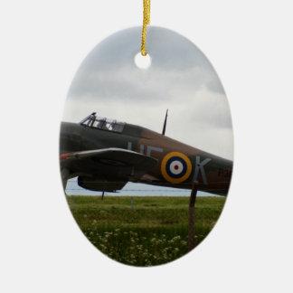 Rare Hawker Hurricane Ceramic Oval Decoration