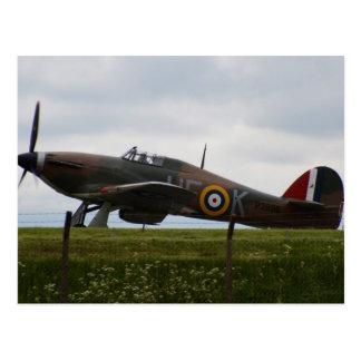 Rare Hawker Hurricane Postcard