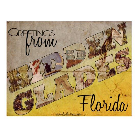 Rare Hidden Glades Postcard