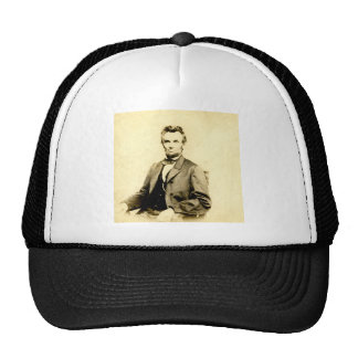 RARE President Abraham Lincoln STEREOVIEW VINTAGE Cap