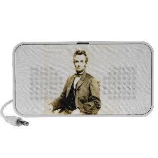 RARE President Abraham Lincoln STEREOVIEW VINTAGE Laptop Speaker