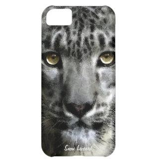 Rare Snow Leopard Big Cat Wildlife iPhone 5 Case