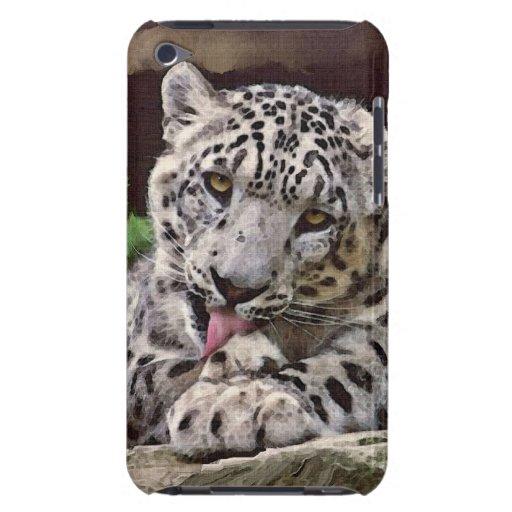 Rare Snow Leopard Big Cat Wildlife iPod Touch Case