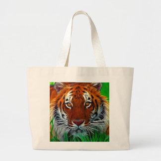 Rare Sumatran Tiger from Indonesia Tote Bags