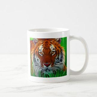 Rare Sumatran Tiger from Indonesia Basic White Mug