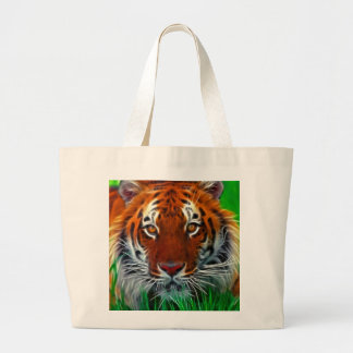 Rare Sumatran Tiger from Indonesia Tote Bags