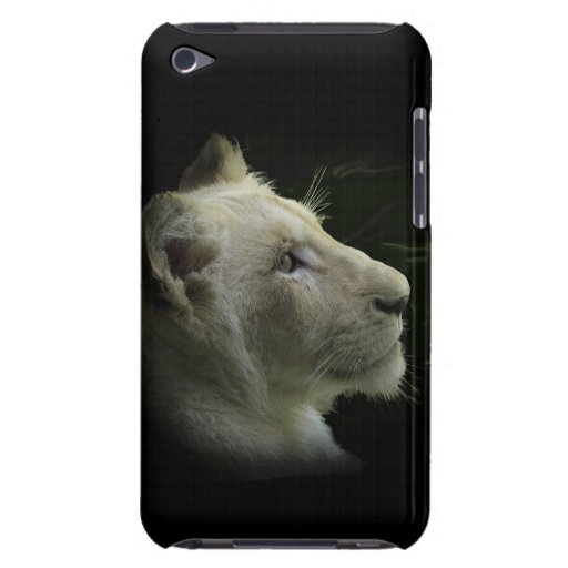Rare White Lion Wild Cat Lion-Lover Phone Case iPod Touch Cases