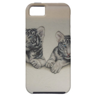 Rare White Tiger Cubs iPhone 5 Cases