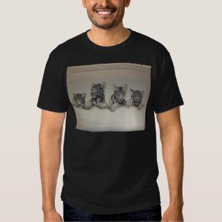 Rare White Tiger Cubs Shirt