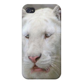 Rare White Tiger iPhone 4 Case