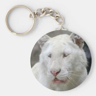 Rare White Tiger Keychain