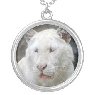 Rare White Tiger Necklace