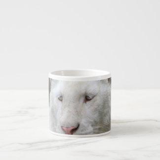 Rare White Tiger  Specialty Mug Espresso Cup