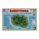Rarotonga, Cook Islands Poster